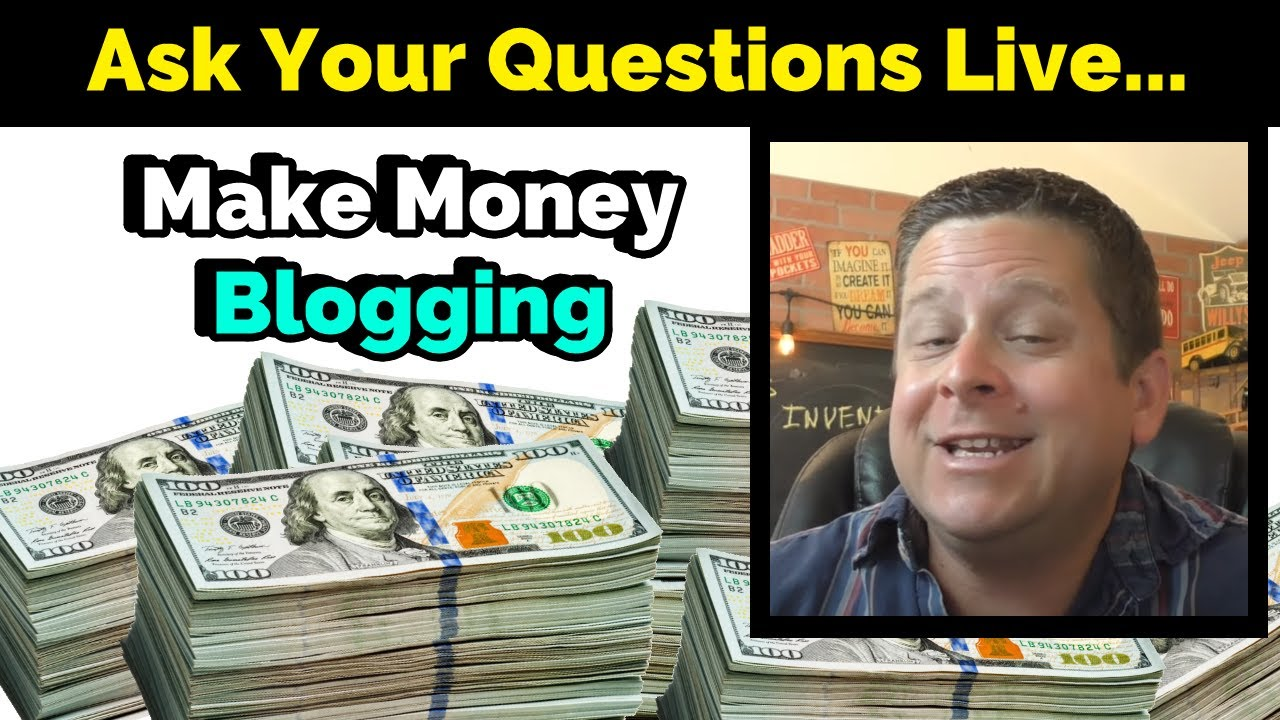 Marcus Campbell video about how to make money blogging